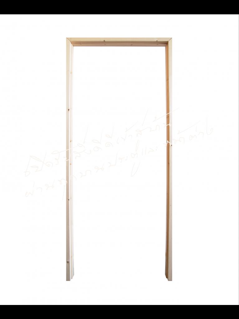 """วงกบประตู Com 1 เรดวูด 2""""x4"""""""