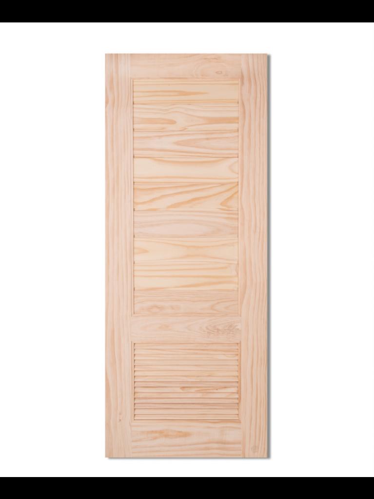 L161 Solid Wooden Door Pine