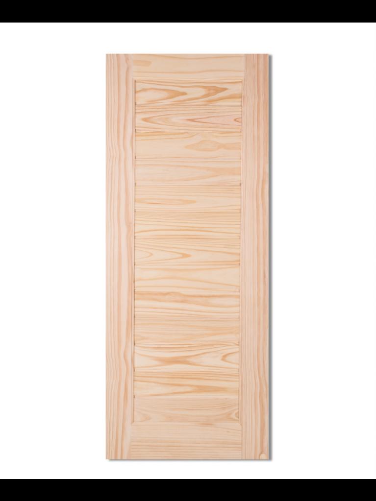 L162 Solid Wooden Door Pine