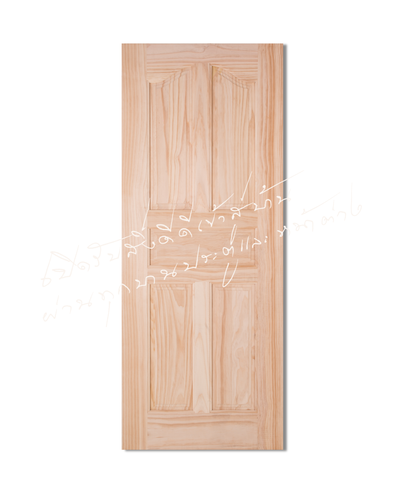 L118-5 Solid Wooden Door Pine