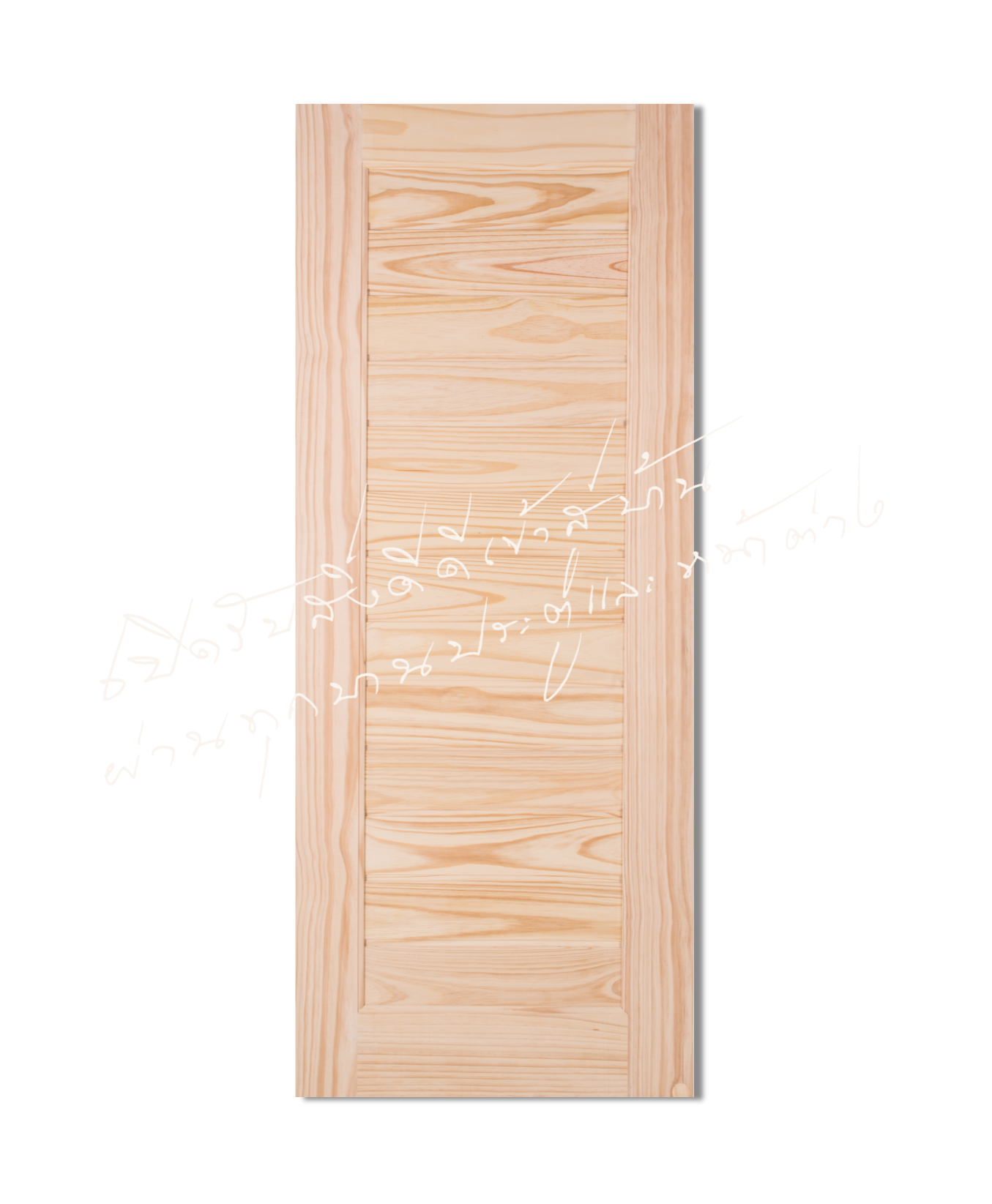 L162 Solid Wooden Door Pine