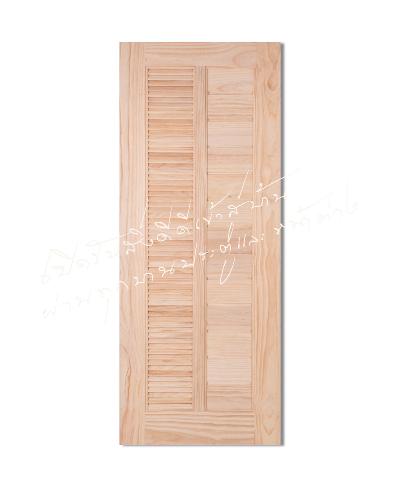 L164 Solid Wooden Door Pine