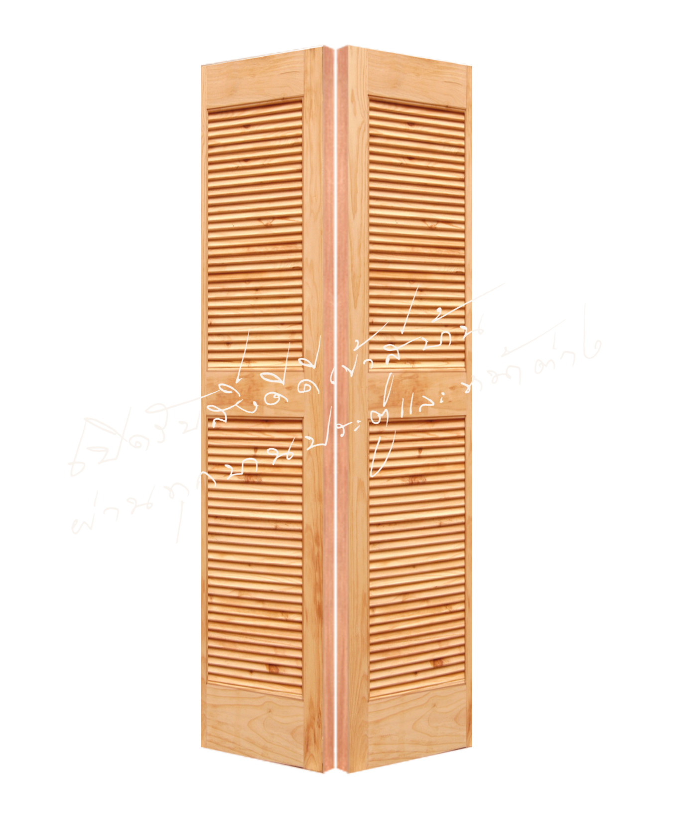 SL150 บานเฟี้ยม ไม้สนนิวซีแลนด์