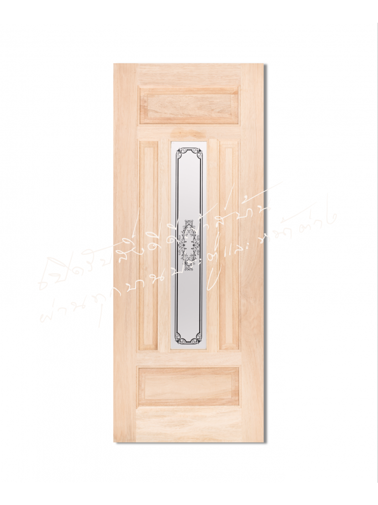 TASMANIAN ประตูไม้จริง ไม้สนนิวซีแลนด์